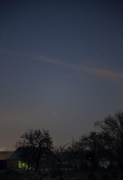 Comète C-2011 L4 Panstarrs-3