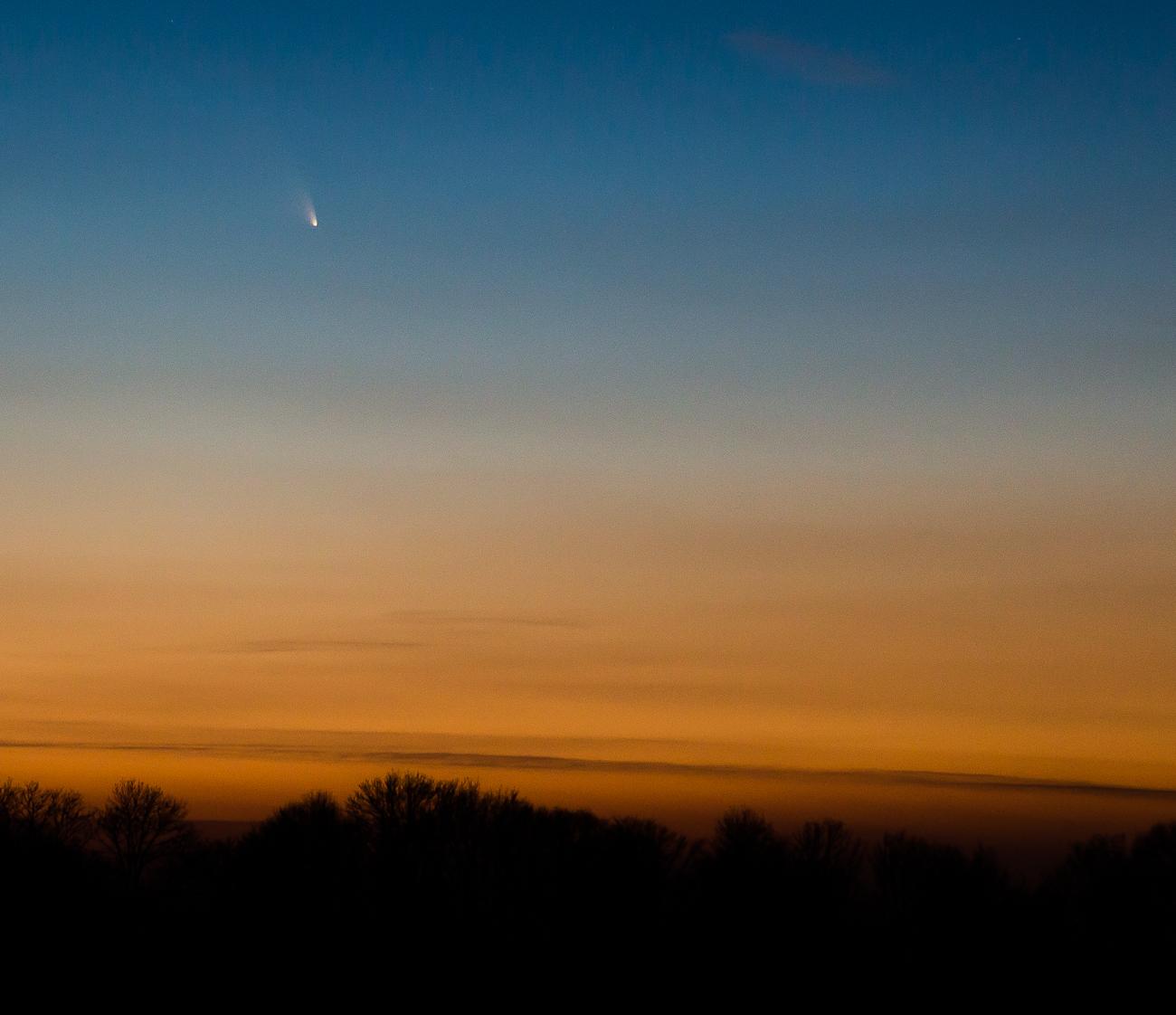 Comète C2011 L4 Panstarrs