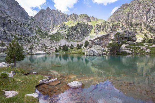 Lac Xic de Subernuix dans le Parc National d'Aiguëstortes (Estany Xic de Subernuix Parc Nacional d'Aigüestortes)