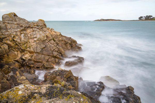 La côte bretonne à Trélévern